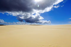 Belles dunes de sable, Australie. photo stock