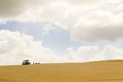Belles dunes de sable, Australie. Photo stock