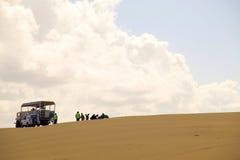 Belles dunes de sable, Australie. Image libre de droits