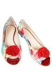 Belles et neuves chaussures Photo libre de droits