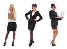 Belles femmes d'affaires Photographie stock libre de droits