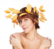 Belles femmes d'automne Images stock