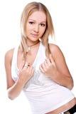 belles femmes de chemise Photo libre de droits