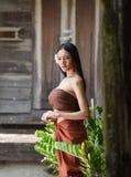Belles femmes de l'Asie de portrait Images libres de droits