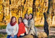 Belles femmes dehors Image stock