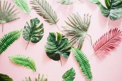 Belles feuilles de tissu de textile Photographie stock