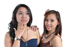 Belles filles Photo libre de droits