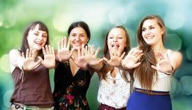 Belles filles d'étudiant Image libre de droits