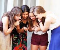 Belles filles d'étudiant Images stock
