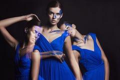 Belles filles de danse Photographie stock libre de droits