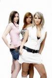 Belles filles de réception Photographie stock