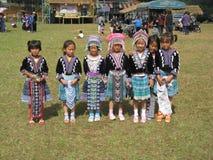 Belles filles thaïes Photographie stock