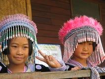 Belles filles thaïes Photo libre de droits