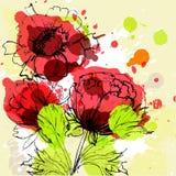 Belles fleurs Images stock
