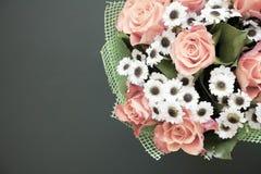 Belles fleurs dans le style de vintage Images libres de droits
