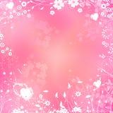 belles fleurs de fond en pastel Photo libre de droits