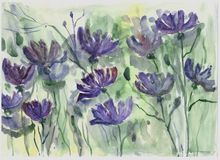 Belles fleurs de la vie image libre de droits