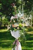 Belles fleurs de mariage photo stock
