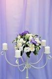 Belle décoration de mariage images libres de droits