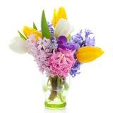 Belles fleurs de source Photos stock