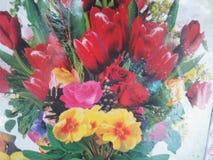 Belles fleurs naturelles Photographie stock