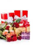 Belles fleurs roses 05 Photo libre de droits
