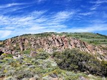 Belles formations de roche au Nevada Photos libres de droits