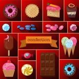 Belles images d'un grand choix de bonbons Photos libres de droits