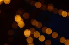 Belles images de tache floue et de bokeh Fond circulaire de bokeh images libres de droits