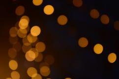 Belles images de tache floue et de bokeh Fond circulaire de bokeh image stock