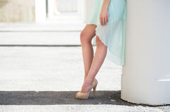 Belles jambes Photographie stock