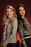 Belles jeunes femmes Image stock