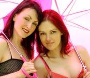 Belles jeunes femmes Photographie stock libre de droits