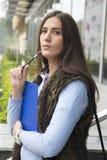 Belles jeunes femmes d'affaires Photos libres de droits