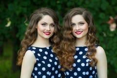 Belles jeunes filles Photos stock
