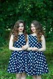 Belles jeunes filles Images libres de droits