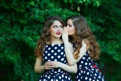 Belles jeunes filles Image libre de droits