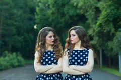 Belles jeunes filles Image stock