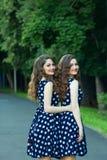 Belles jeunes filles Photo stock
