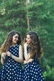 Belles jeunes filles Photo libre de droits