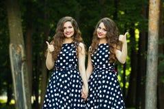 Belles jeunes filles Photographie stock libre de droits