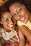 Belles jeunes soeurs Photographie stock