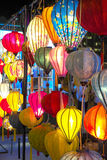 Belles lanternes de couleur image stock