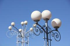 Belles lanternes de rue Photo stock