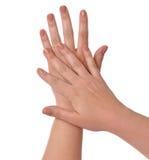 Belles mains Photo libre de droits