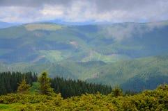 Belles montagnes d'été Images libres de droits