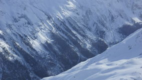 Belles montagnes dans Oetztal en Autriche pour le sport et les sports extrêmes dans les Alpes en Europe Photographie stock libre de droits