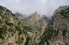 Montagnes de Caucase Images libres de droits