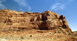 Belles montagnes de désert Image libre de droits