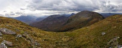 Belles montagnes de Wester Ross, Ecosse, R-U Photo stock